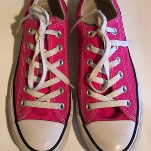 All Star Converse Unisex Sneakers Pink